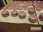 Macarons aux myrtilles