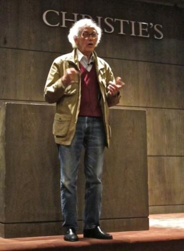 Christo conférence portrait 3
