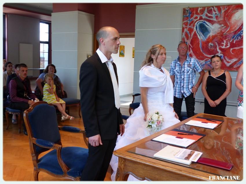 Quelques photos du mariage de ma fille ainée le 11 juillet à votre demande