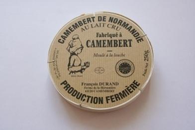 LES FROMAGES DE NOS REGIONS LE CAMAMBERT
