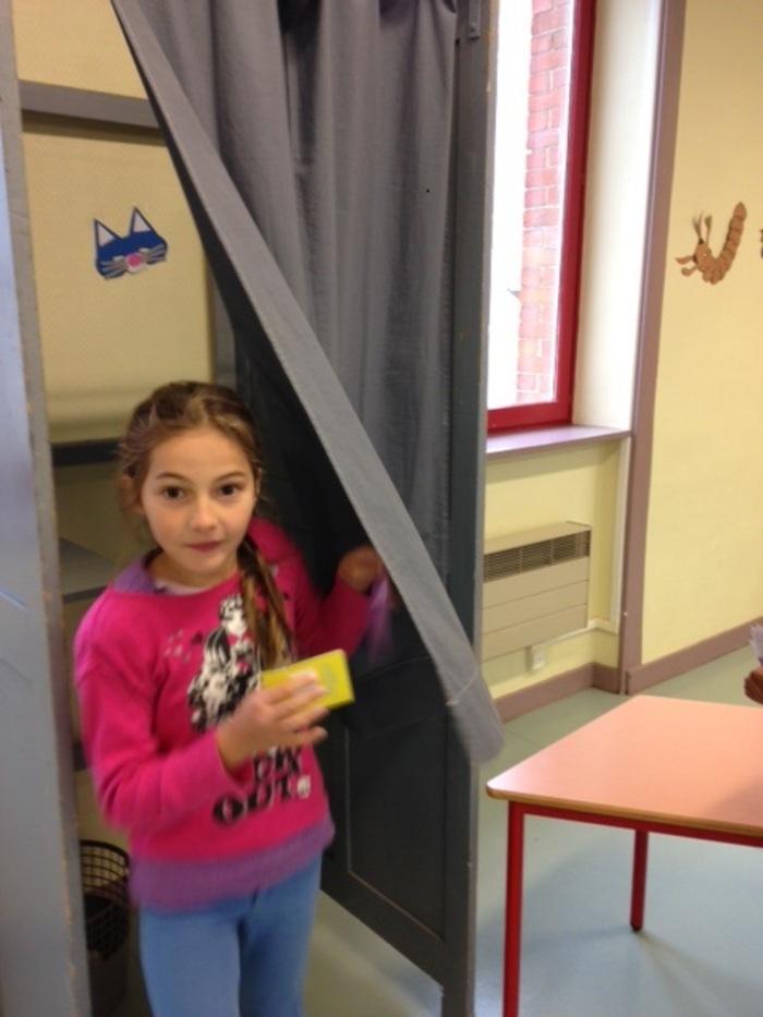 Election du conseil municipal d'enfants