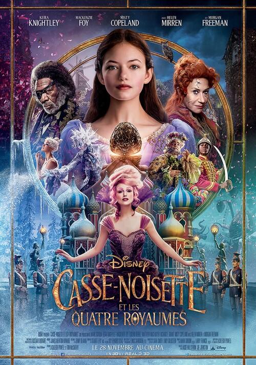 """Bonsoir a l'honneur : """"  Casse-noisette et les quatre royaumes """""""