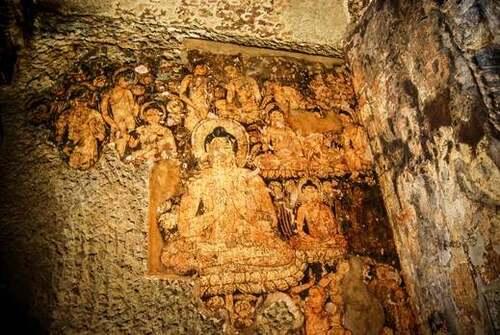 Patrimoine mondial de l'Unesco : Les grottes d'Ajanta - Inde -