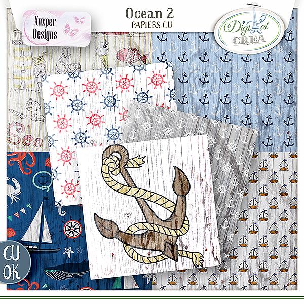 Ocean papiers Cu vol2 de Xuxper designs