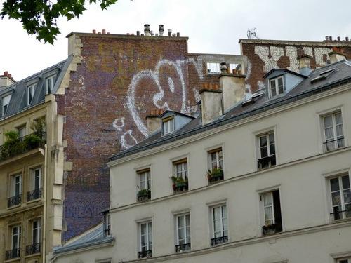 ancien mur peint publicitaire Eclipse