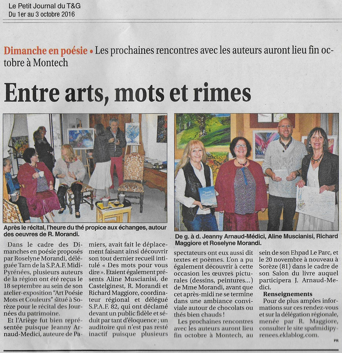 rencontre journal presse