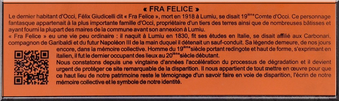Occi (Lumio) Corse - Village abandonné