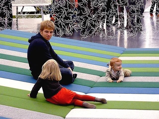 Textile fields Bouroullec Centre Pompidou-Metz 2 Marc de Me