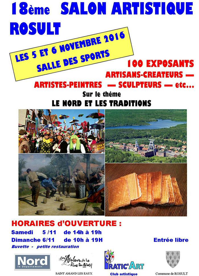 Salon artistique «Le Nord et les traditions», à Rosult