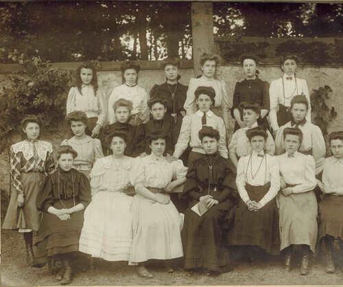 première classe 1907