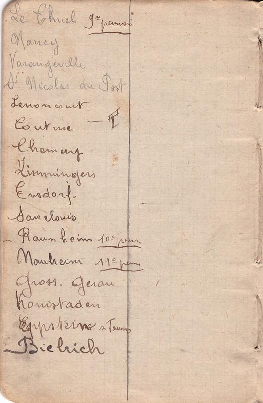 Le carnet de Paul Bonneton (III)