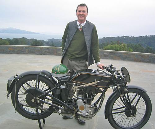 Paul d'O. dandy motocycliste