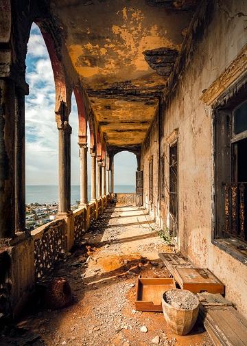 Beyrouth, une ville déchirée ...