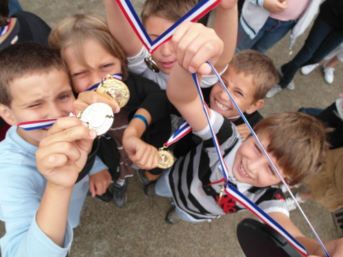 Remise des médailles boulistes