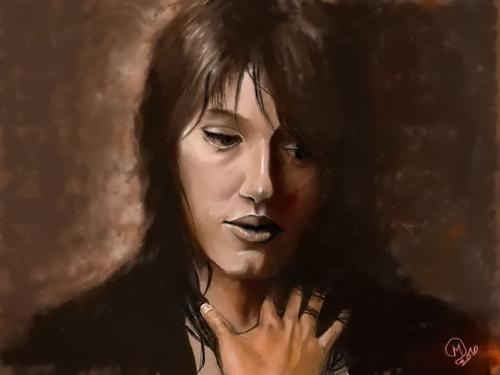 """portrait """"palette graphique"""""""