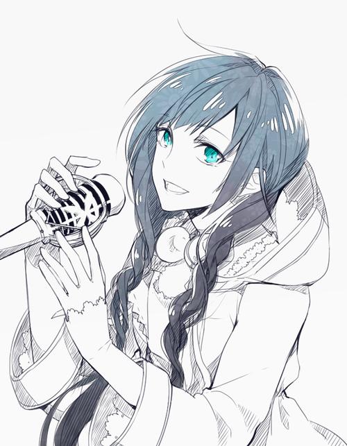 Image de girl, anime, and braiding