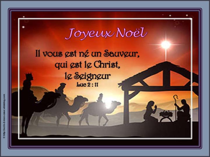 Joyeux Noël - Luc 2 : 11