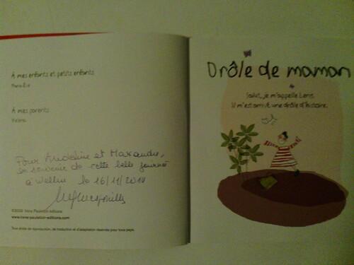 """Chronique de l'album """"Drôle de maman"""" de Marie-Eve Mespouille"""