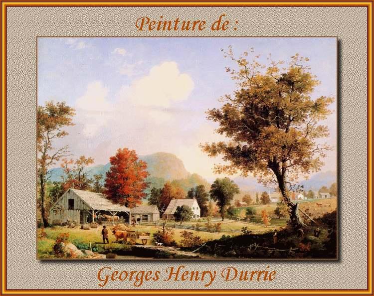 Peinture de : Georges Henry Durrie