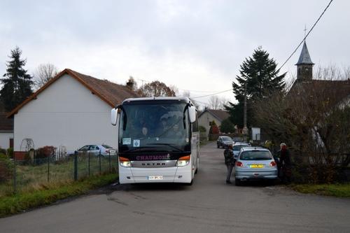 20 Novembre- Voyage Mémoire de l'Amicale de la D.F.L. dans les Vosges et en Alsace : une première étape à Champagney et Andornay