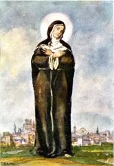 Bienheureuse Hélène Valentini, tertiaire augustine († 1458)