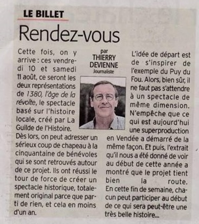 Article Midi Libre du 7/08