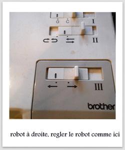 ma façon de monter les mailles avec le robot kg 88