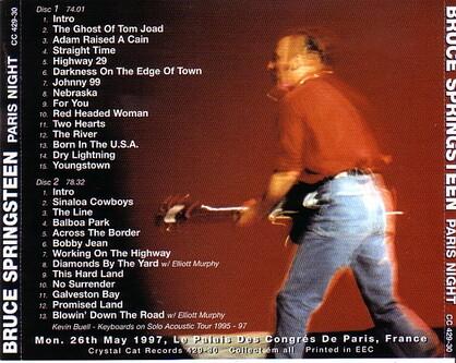 La Saga de Springsteen - épisode 27 - Avant la reformation...