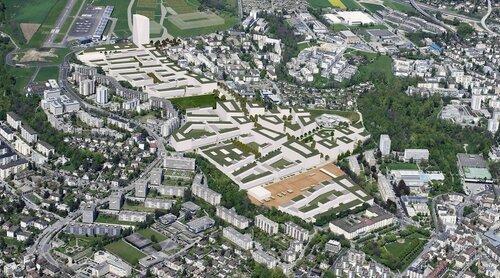 Lausanne - Ecoquartier des Plaines du Loup