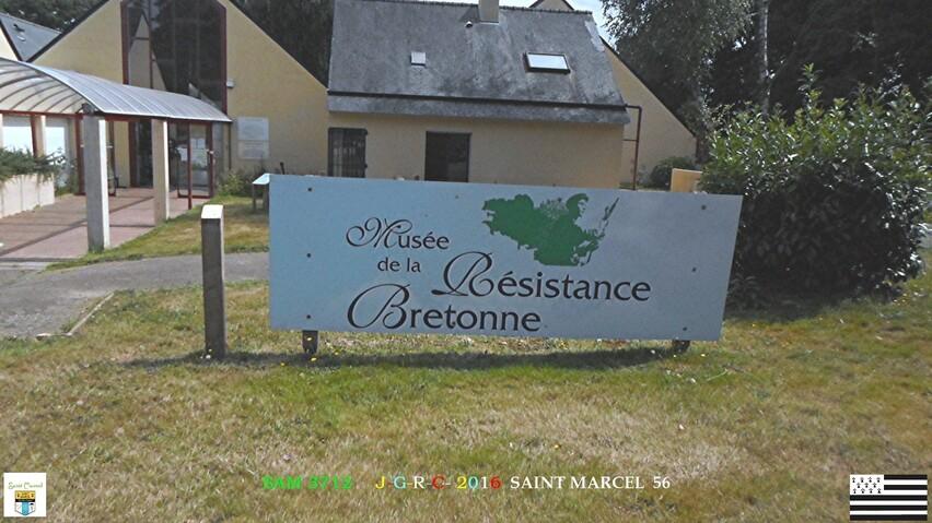 MUSEE DE LA RESISTANCE  SAINT MARCEL  56       D 25/11/2016