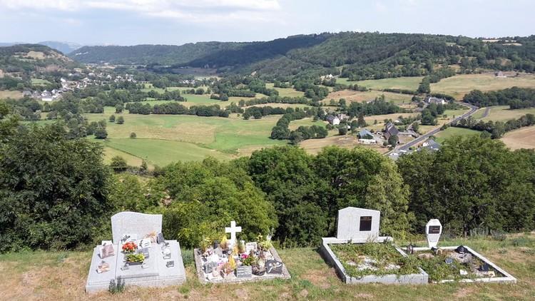 Vue depuis le cimetière