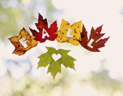Fichier sur le thème de l'automne pour les petits