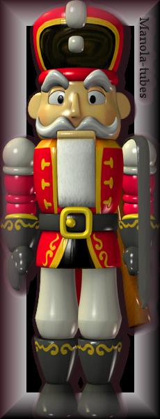 Tube figurine de Noel 2944