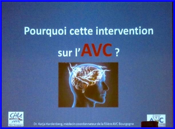 Une conférence sur l'Accident Vasculaire Cérébral (AVC) a été proposée aux visiteurs du Forum des Séniors