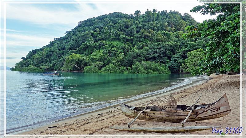 La plage du Sakatia Lodge à marée haute - Nosy Sakatia - Madagascar