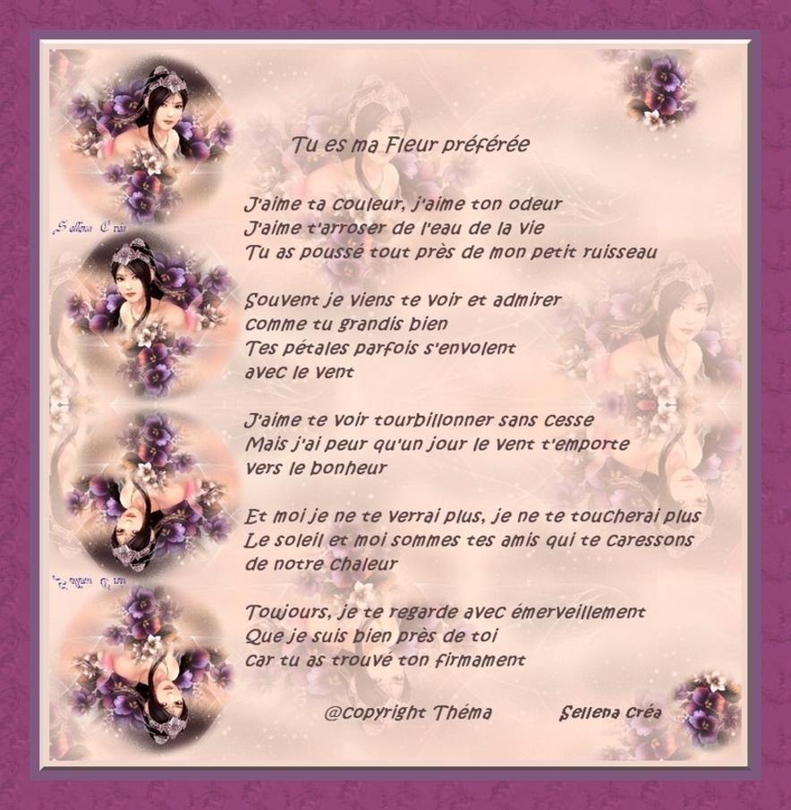 225 - Tu es ma Fleur Préférée