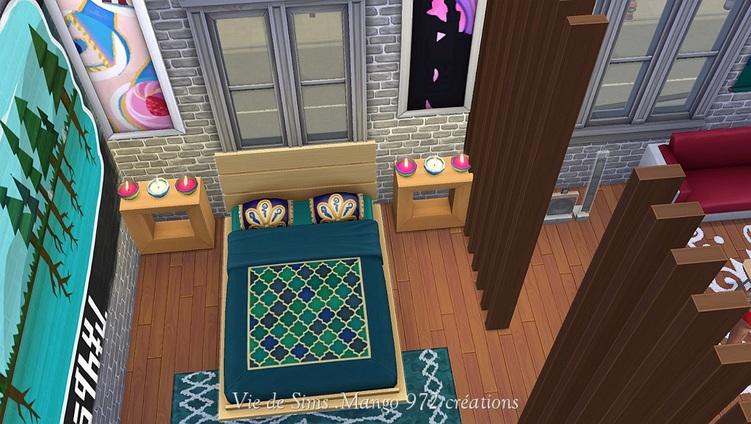 Sims 4 Appartement 17 Maison du Piment
