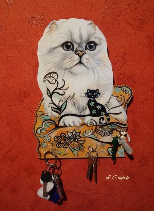 Le chaton persan.