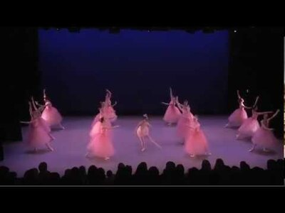 dance ballet cherry blossoms ballet the nutcraker walz flowers