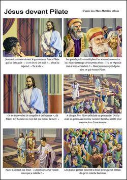 BD : Jésus devant Pilate