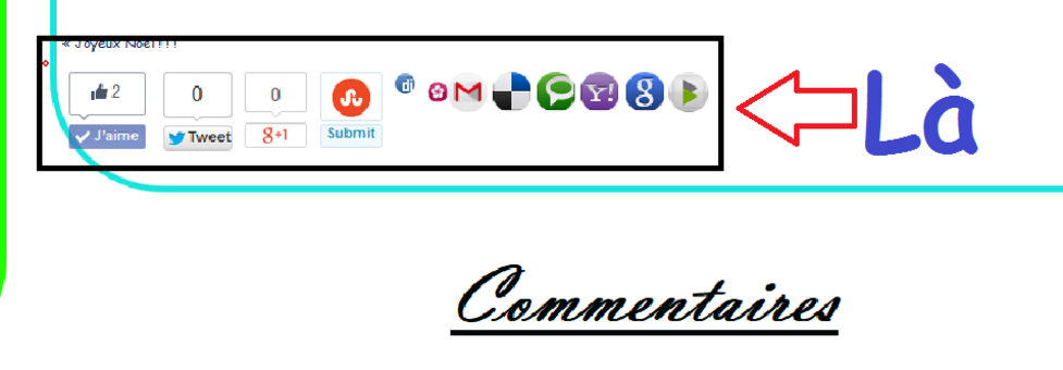 [Tuto] N°4 : Mon blog à des bouton !?!