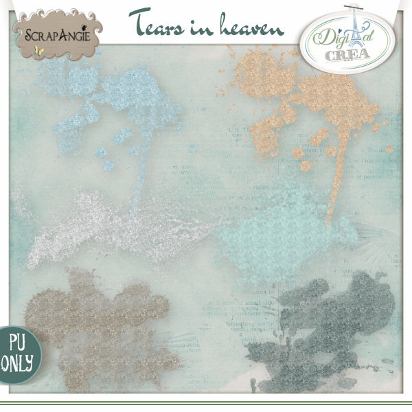 Tears in heaven by Scrap'Angie