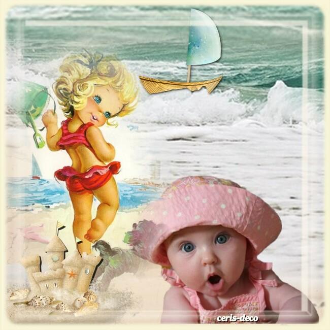 gif bébé rose pour le défi de capucine