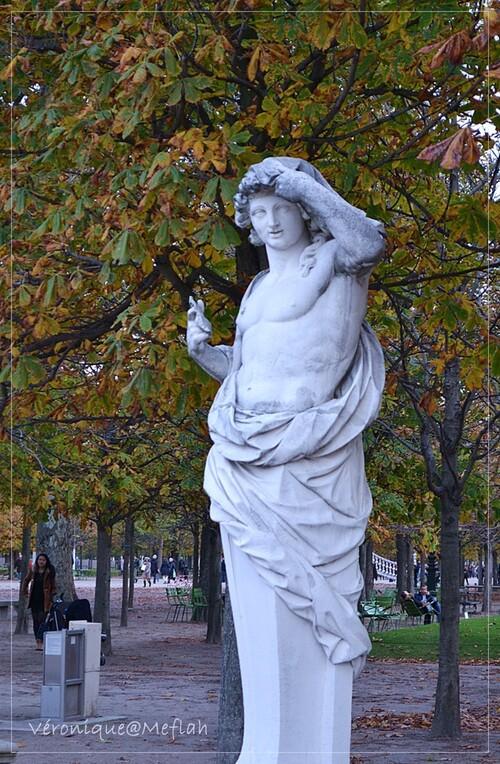 La photo du weekend : L'automne au jardin des Tuileries