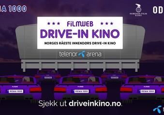Le cinéma Filmweb Drive-In en Norvège fonctionne bien en temps de Coronavirus
