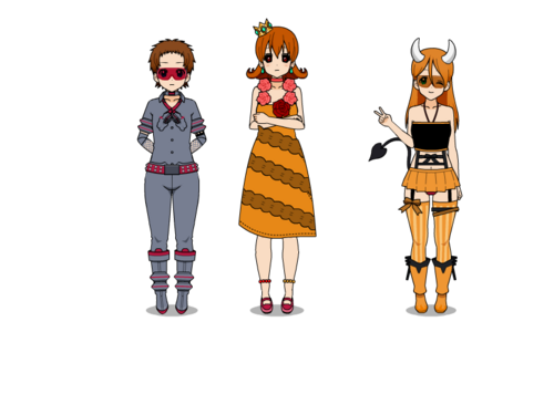 Lost, Lovely and Daisy.exe  Outifts randoms 