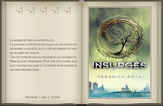 « Divergent [02] » de Veronica Roth