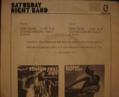 1979 : Single SP Zaphiro Records 00X-444 [ ES ]