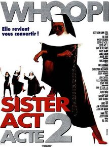 SISTER ACT 2 BOX OFFICE FRANCE 1994