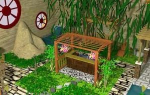 Indoor garden escape